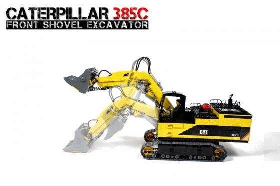 Caterpillar 385C Front Shovel Excavator
