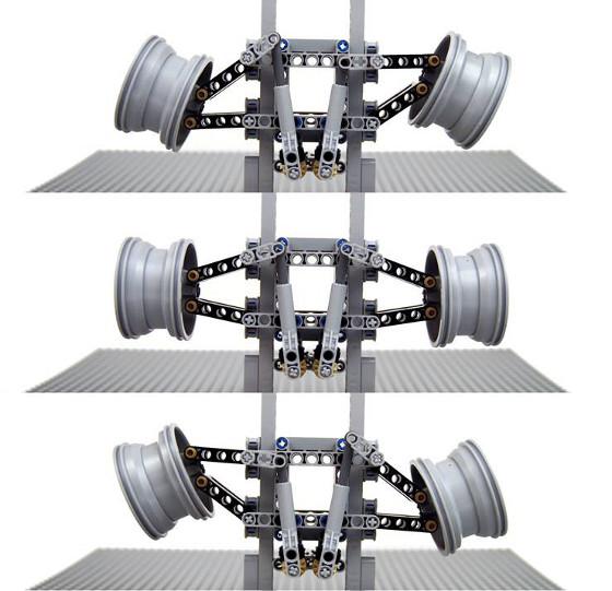 Sariel Virtual Pivot Steering System
