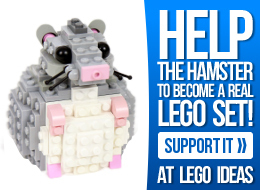 Support the Hamster at LEGO Ideas