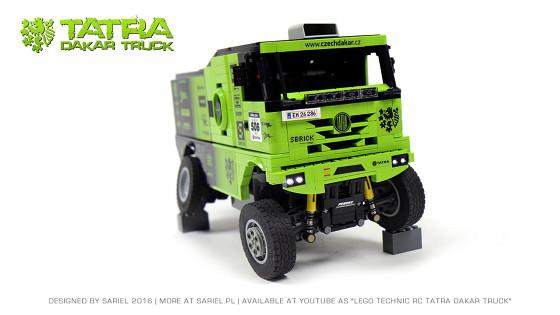 Tatra Dakar Truck
