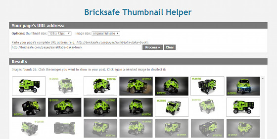 Bricksafe Thumbnail Helper