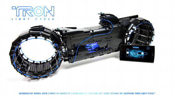 Sariel.pl » TRON Light Cycle