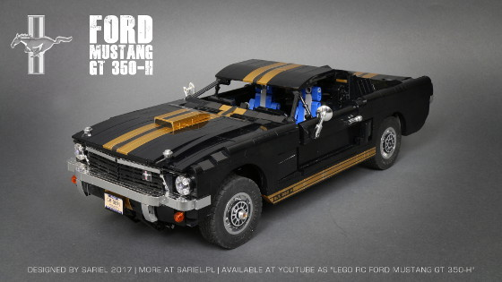 Sariel pl » Ford Mustang GT 350-H