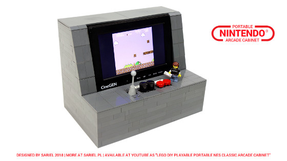 Lego Arcade Machine Instructions Machine Photos And Wallpapers